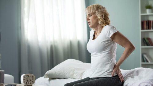 ból kręgosłupa rano
