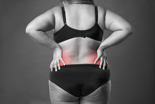 Nadwaga kręgosłup